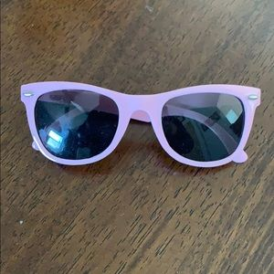 Girls Pink Sunglasses with Fruit on the Sides